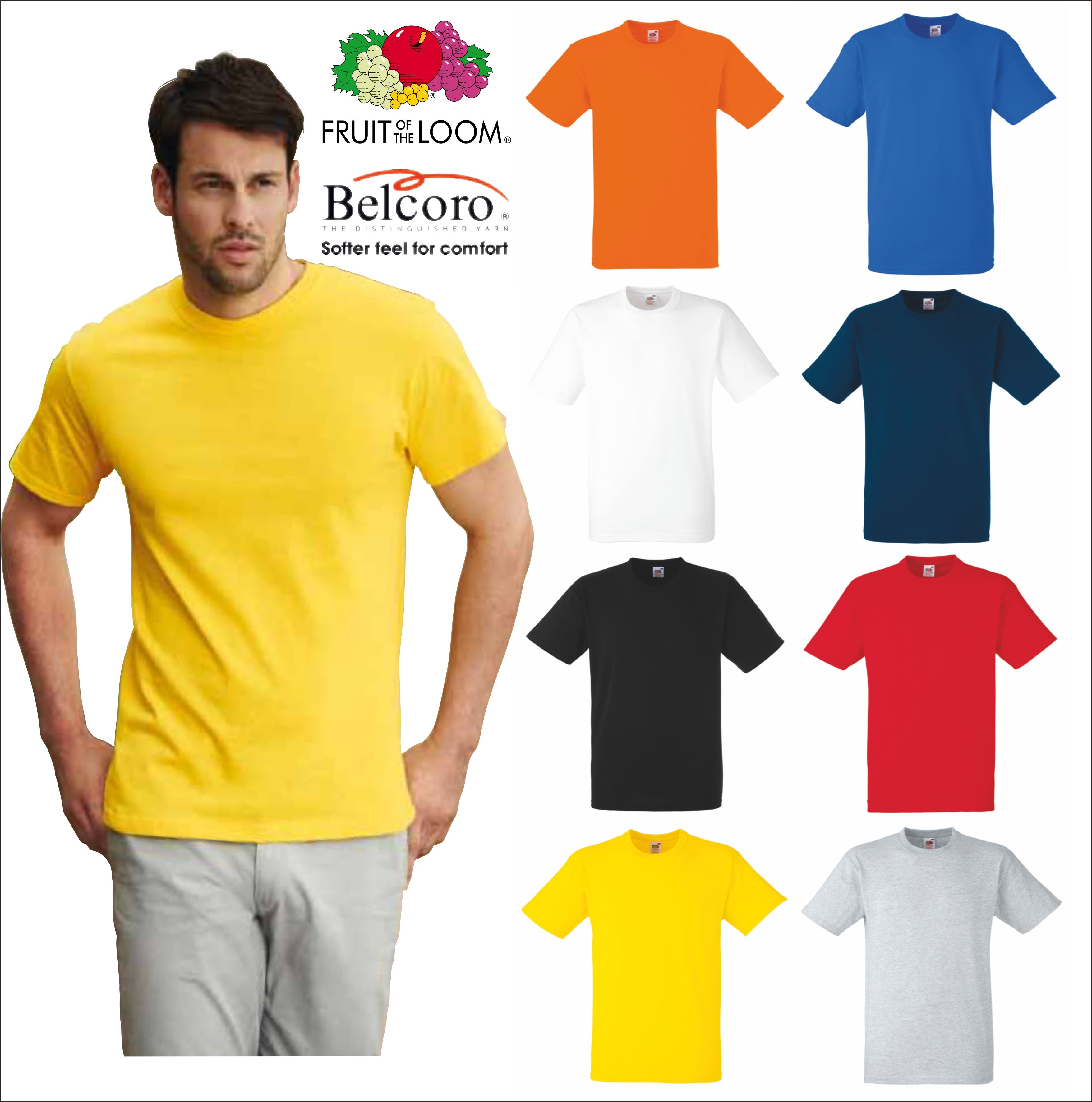 Fruit of the Loom T-Shirt Uomo
