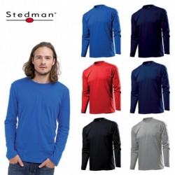 T-SHIRT STEDMAN CLASSIC ST2500T UOMO COTONE MANICA LUNGA MEN