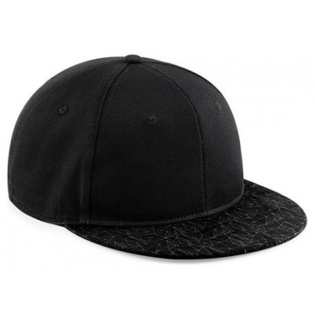 Cappello B881 Rap Estivo Unisex Piatta Visiera D Poliestere Beechfield erdCBox