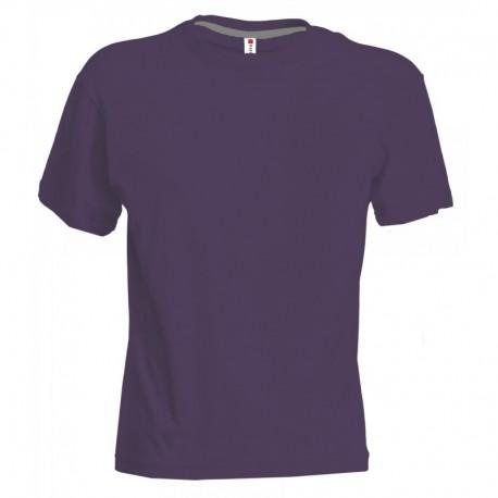 t-shirt sunset payper uomo a girocollo con manica corta jersey 150gr