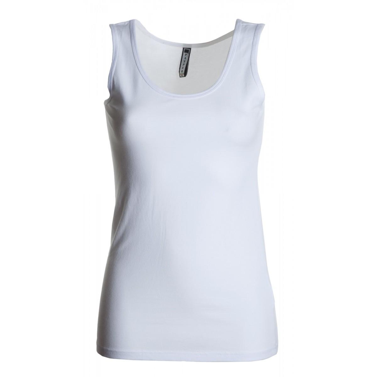 13f36ba73e7d t-shirt flex top payper donna canotta con ampio scollo stretch jersey 175gr