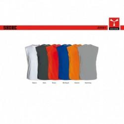 t-shirt shore payper uomo top a girocollo jersey 150gr