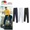 PANTALONE FRUIT OF THE LOOM FR640380 TUTA COTONE UOMO SGARZATI