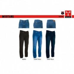 Pantalone DENIM MUSTANG PAYPER uomo taglio classico denim stretch 12oz/300d