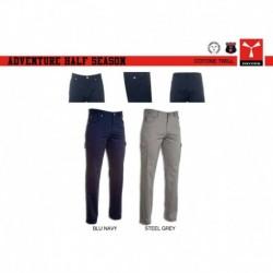 Pantalone ADVENTURE HALF SEASON PAYPER payper uomo multitasche twill 220gr