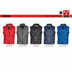Gilet CASUAL PAYPER uomo classico con zip intera nylon 420t 38g