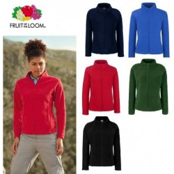 PILE FRUIT ZIP INTERA DONNA MANICA REGLAN FEMMINILE FR620660