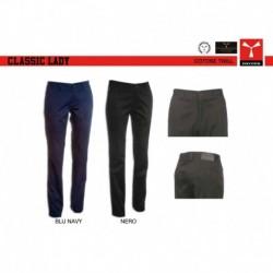 Pantalone CLASSIC LADY PAYPER donna taglio classico stretch twill 13oz