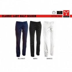 Pantalone CLASSIC LADY HALF SEASON PAYPER donna taglio classico twill 220gr