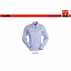 Camicia CLERK LADY Payper donna  a mancia lunga cotone oxford 140gr