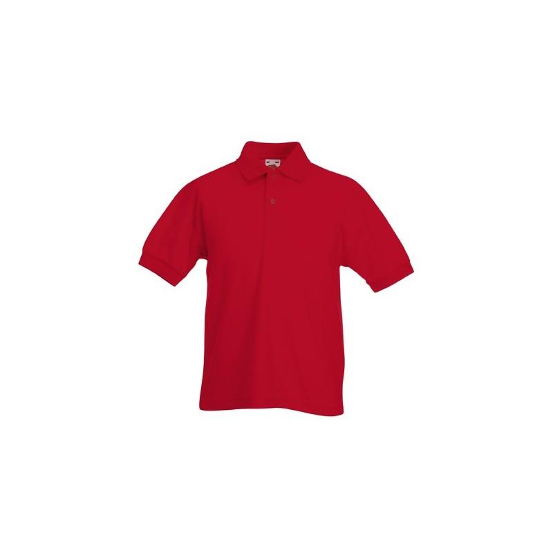 POLO-FRUIT-BAMBINO-FR634170-PIQUE-039-KIDS-MISTO-COTONE-65-35-KIDS