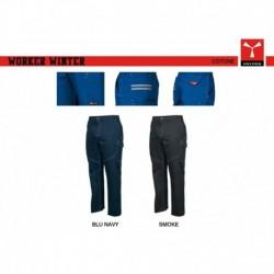 Pantalone WORKER WINTER PAYPER uomo invernale multitasche twill sanforizzato cotone 100% 350gr