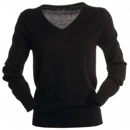 Maglione BUSINESS LADY PAYPER donna con collo a v e manica lunga mix cotone/lana 280gr 12g
