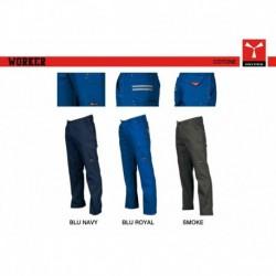 Pantalone WORKER PAYPER multitasche twill sanforizzato 260gr