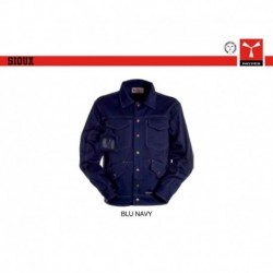 Giubbotto giacca SIOUX PAYPER lavoro leggero multi tasche satin brushed 350gr