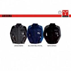 Giubbotto giacca ARIZONA PAYPER lavoro leggero multi tasche con dettagli a contrasto cotone twill 250gr