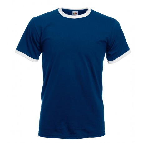 t shirt bicolore ml Fruit Of The Loom FR610280