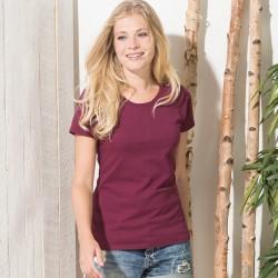 T-Shirt FR614240 FRUIT Donna Ladie's Ringspun premium T 100