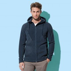 Pile ST5080 STEDMAN Uomo Active Hooded Fleece Jack100%P