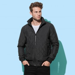 Giacca ST5270 STEDMAN Uomo Active Quilted Blouson, 100%P