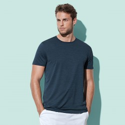 T-Shirt ST8020 STEDMAN Uomo Active Intense Tech, 100%P