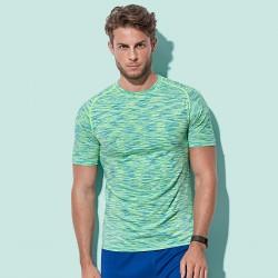 T-Shirt ST8800 STEDMAN Uomo Active Seamless Raglan58%P42%N