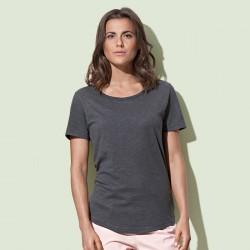 T-Shirt ST9320 STEDMAN Donna Organic Slub, 100%C