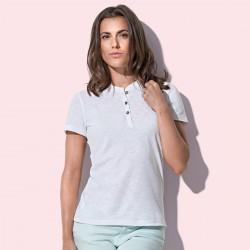 T-Shirt ST9530 STEDMAN Donna Sharon Henley T-shirt, 100%P