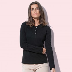 T-Shirt ST9580 STEDMAN Donna Sharon Henley LS 100%C