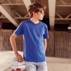 T-Shirt JE155B RUSSELL Bambino Children's Slim T 100%C