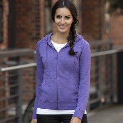 Felpa JE284F RUSSELL Donna Ladies' HD Zipped Hood Sweat