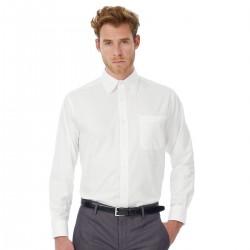 Camicia B&C Uomo Oxford BCSMO01 70% COTONE