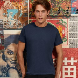 T-Shirt Uomo B&C BCTM046 Favourite Slub Tee 100% BIO