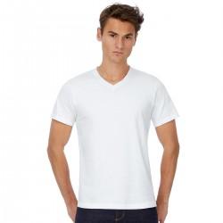 T-Shirt Uomo B&C BCTM060 MICK CLASSIC MEN 100% COTONE