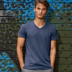 T-Shirt Uomo B&C BCTM057 Favourite V Triblend men 130 g/m2