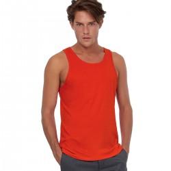 T-Shirt Uomo B&C BCTM072 Inspire Tank T /men 100% COTONE