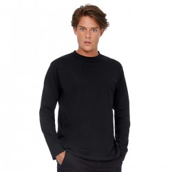 T-Shirt B&C Uomo BCTU005 Unisex EXACT190LS 100% COTONE