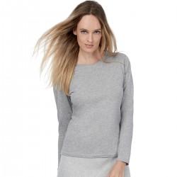 T-Shirt Donna B&C BCTW013 WOM-ONLY LSL T-SHIRT 100% COTONE