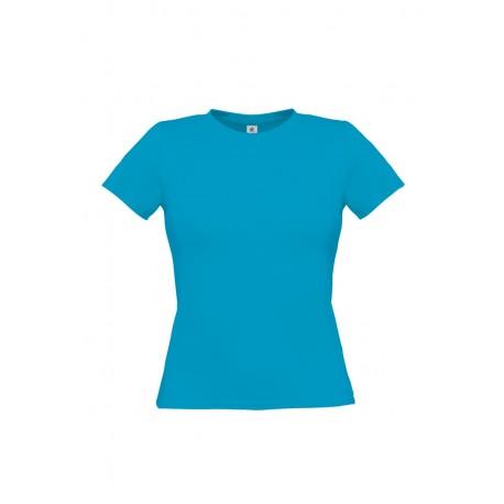 T-Shirt B&C Donna BCTW012 WOMEN-ONLY T-SHIRT 100% COTONE