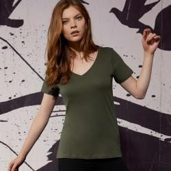 T-Shirt Donna B&C BCTW045 Favourite V-neck Tee women