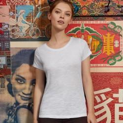 T-Shirt Donna B&C BCTW047 Favourite Slub Tee women