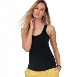 T-Shirt Donna B&C BCTW073 Inspire Tank T /women 100% COTONE