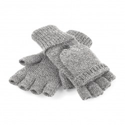Guanti BEECHFIELD B493 U senza dita Unisex Fliptop Gloves 100% acrilico