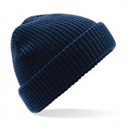 Cuffia BEECHFIELD B422 D Unisex Clas Waffle Knit Beanie 100% acrilico doppio strato