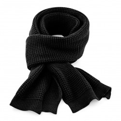 Sciarpa BEECHFIELD B424 U Unisex Clas Waffle Knit Scarf 100% acrilico