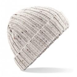 Cuffia BEECHFIELD B427 D Unisex Berretto Rustic Fleck 100% acrilico cappello