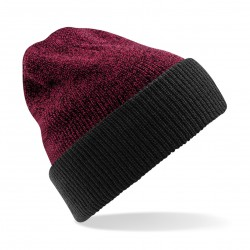 Cuffia BEECHFIELD B428 D Unisex Reversib Heritage Beanie 100% acrilico soft-touch double-face