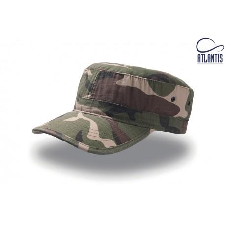 Cappello ATLANTIS ATARCA Unisex U ARMY 100% COTONE RIP-STOP
