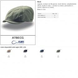 Cappello coppola ATLANTIS ATBECG Unisex D BECK 100% cotone