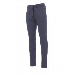 Pantalone COLLEGE PAYPER uomo in felpa a gamba dritta garzata 320gr